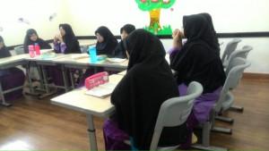 Siswi SMP Islam Nazhirah