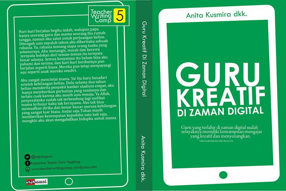 Contoh Cover Buku Guru Kreatif Di Zaman Digital 1