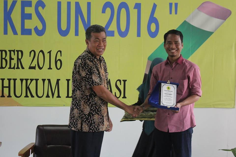 Namin AB Ibnu Solihin dan Ketua STIH Litigasi