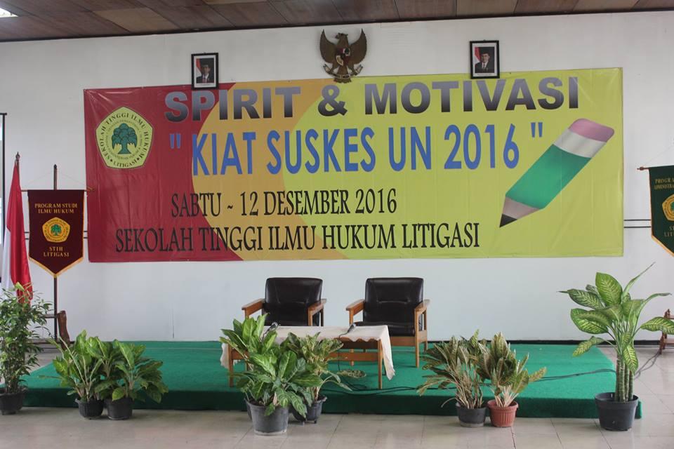 Seminar Motivasi UN 2016