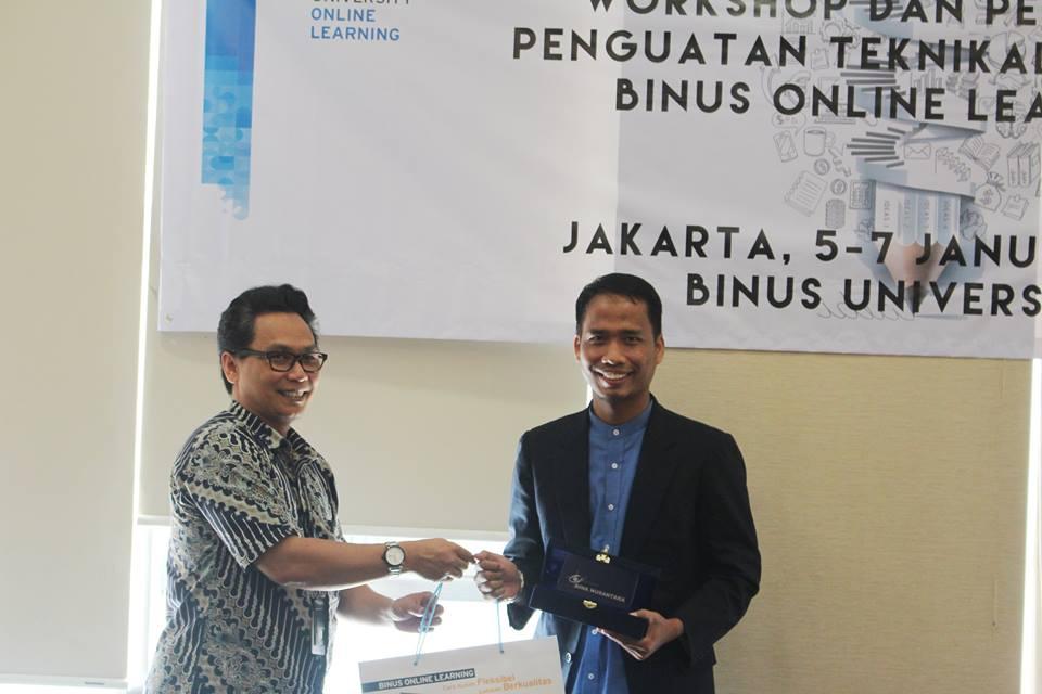 Namin AB Ibnu Solihin di Binus University