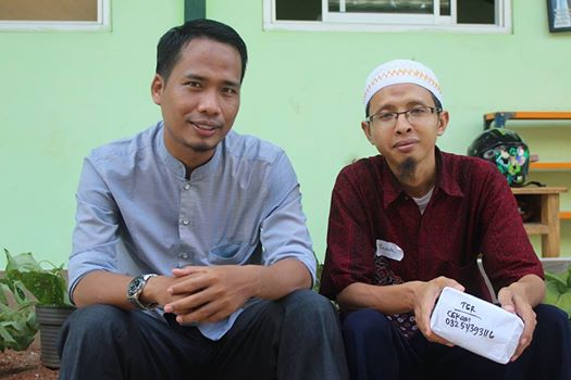 Namin dan Ustadz Taufik Ruhul Jadid