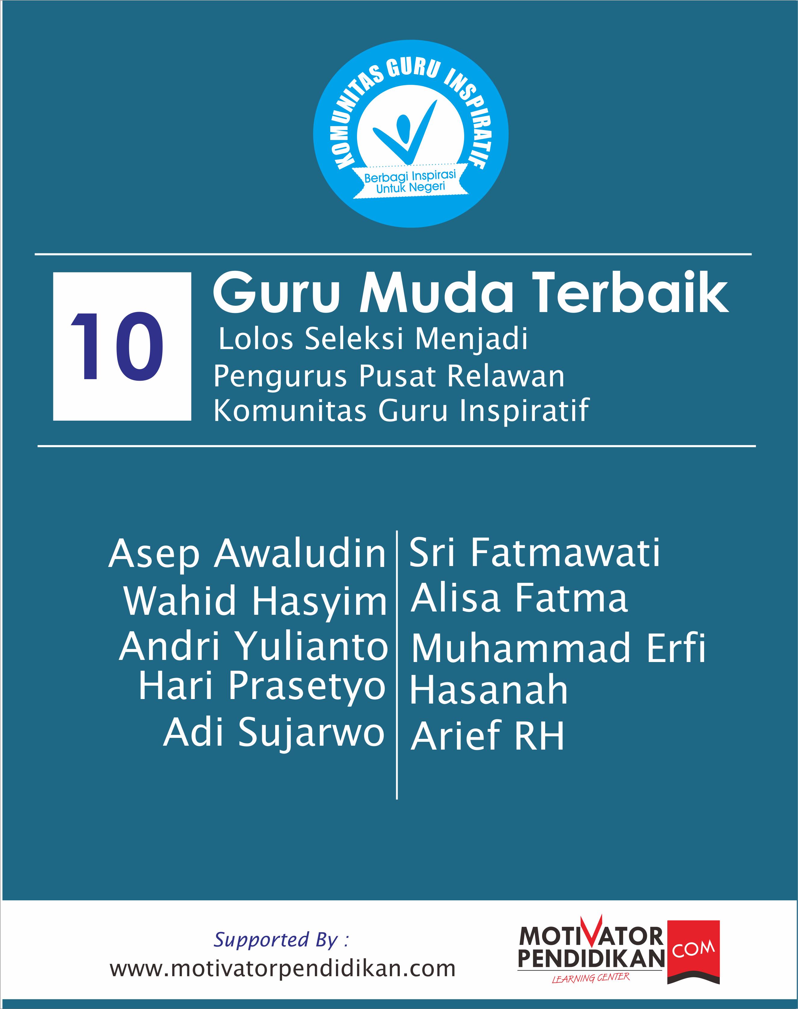 Poster Pengumuman Rekawan KGI Pusat