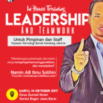 Training Leadership and Teamwork Yayasan Bunda Kandung Jakarta