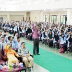 Ribuan Mahasiswa FITK UIN Raden Fatah Palembang Ikrakran Bersama Tidak Pacaran Selama Kuliah