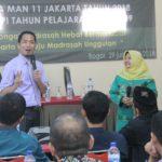 Training Motivasi Guru dan Karywan MAN 11 Jakarta Bersama Namin AB Ibnu Solihin