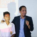 Training Motivasi Kiat Sukses Ujian Nasional SMP IT Al-Fawwaz Bersama Namin AB Ibnu Solihin