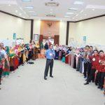 Training Guru Kreatif SMK dan SMP Semen Padang Bersama Namin AB Ibnu Solihin Sesi Hari Kedua