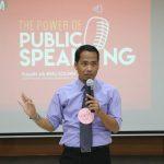 Training Guru Kreatif Program CSR PT Indah Kiat Bersama Namin AB Ibnu Solihin Sesi Hari Kedua