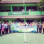 Workshop Penelitian Tindakan Kelas MAN 10 Jakarta Bersama Namin AB Ibnu Solihin