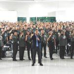 Training Motivasi Pendidikan Bagi Guru Militer TNI AD Bersama Namin AB Ibnu Solihin