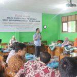Training Guru Kreatif SMP Muhammadiyah Pabuaran Bersama Namin AB Ibnu Solihin