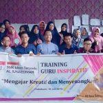 Training Guru Kreatif SMK IT Al Junaediyah Sukabumi Bersama Namin AB Ibnu Solihin