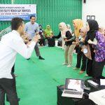 Training Guru Kreatif Program Peningkatan Kapasitas Guru PT Medco E&P Indonesia Rimau Asset Bersama Namin AB Ibnu Solihin Hari Kedua