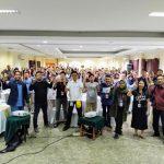 Seminar Motivasi Peserta Beasiswa Juara Lotte Group Bersama Namin AB Ibnu Solihin