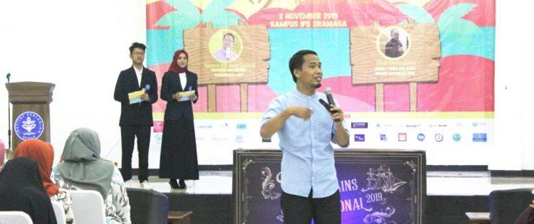 Seminar Keguruan Festivail Sains IPB 2019 Bersama Namin AB Ibnu Solihin