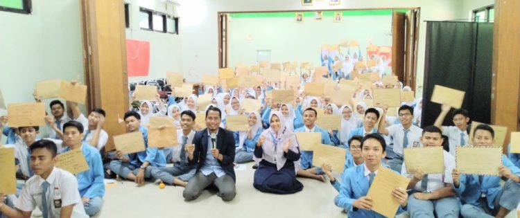 Training Motivasi Ujian Nasional SMK Negeri 31 Jakarta Bersama Namin AB Ibnu Solihin