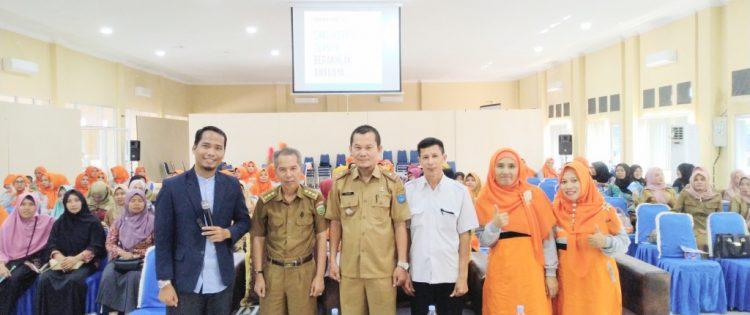 Seminar Parenting PG TK Muthiah Islamic School Kayu Agung Bersama Namin AB Ibnu Solihin