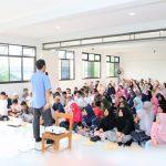 Training Motivasi Kiat Sukses Ujian Sekolah SD Muhammadiyah 1 Cileungsi Bersama Namin AB Ibnu Solihin