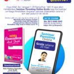 Seminar Parenting Online Gratis Selama 20 Hari di Bulan Ramadhan