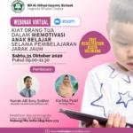 Download Gratis Materi Seminar Parenting Kiat Orang Tua Dalam Memotivasi Anak Belajar Selama Pembeajaran Jarak Jauh