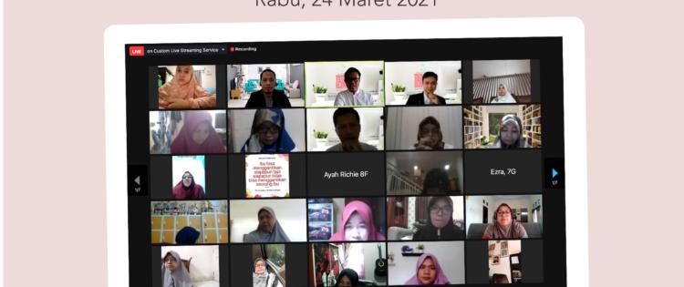Seminar Parenting Menjadi Sahabat Anak  di Era Digital SMPIT Raudhatul Jannah Bersama Namin AB Ibnu Solihin